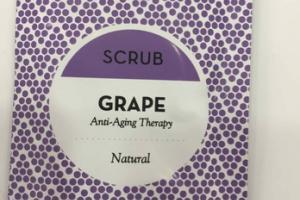 NATURAL ANTI-AGING SCRUB THERAPY, GRAPE