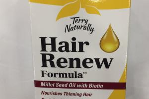 Hair Renew Formula Dietary Supplement