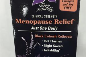 Menopause Relief Dietary Supplement