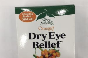 Omega 7 Dry Eye Relief Dietary Supplement