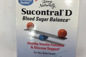 Sucontral D Blood Sugar Balance Dietary Supplement