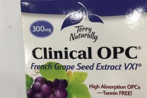 French Grape Seed Extract Vx1 Dietary Supplement