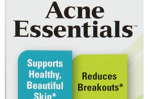 SUPPORTS HEALTHY, BEAUTIFUL SKIN REDUCES BREAKOUTS DIETARY SUPPLEMENT CAPSULES