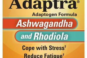 ADAPTOGEN FORMULA DIETARY SUPPLEMENT CAPSULES, ASHWAGANDHA AND RHODIOLA