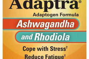ADAPTOGEN FORMULA DIETARY SUPPLEMENT CAPSULES, ASHWAGANDHA AND RHODIOLA