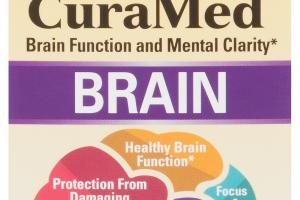 BRAIN FUNCTION AND MENTAL CLARITY DIETARY SUPPLEMENT SOFTGELS