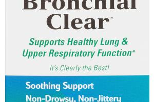 SUPPORTS HEALTHY LUNG & UPPER RESPIRATORY FUNCTION DIETARY SUPPLEMENT TABLETS