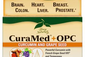 POWERFUL CURCUMIN WITH FRENCH GRAPE SEED VX1 & TURMERONES DIETARY SUPPLEMENT SOFTGELS