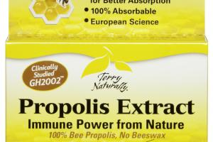 IMMUNE POWER FROM NATURE PROPOLIS EXTRACT CAPSULES DIETARY SUPPLEMENT CAPSULES