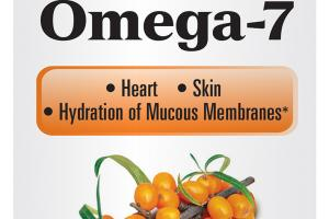 OMEGA-7 HEART, SKIN, HYDRATION OF MUCOUS MEMBRANES DIETARY SUPPLEMENT SOFTGELS