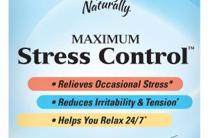 MAXIMUM STRESS CONTROL DIETARY SUPPLEMENT SOFTGELS
