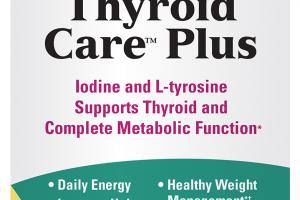 IODINE AND L-TYROSINE SUPPORTS THYROID AND COMPLETE METABOLIC FUNCTION DIETARY SUPPLEMENT CAPSULES