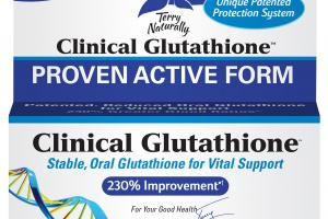 PROVEN ACTIVE FORM STABLE, ORAL GLUTATHIONE FOR VITAL SUPPORT DIETARY SUPPLEMENT TABLETS