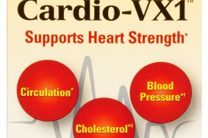CARDIO-VX1 SUPPORTS HEART STRENGTH DIETARY SUPPLEMENT CAPSULES