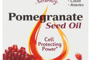 SEED OIL DIETARY SUPPLEMENT SOFTGELS, POMEGRANATE