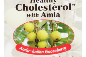 HEALTHY CHOLESTEROL WITH AMLA DIETARY SUPPLEMENT CAPSULES