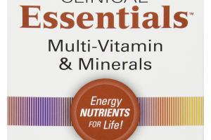 MULTI-VITAMIN & MINERALS DIETARY SUPPLEMENT TABLETS