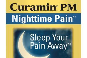 CURAMIN PM NIGHTTIME PAIN CAPSULES DIETARY SUPPLEMENT