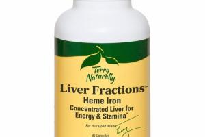 LIVER FRACTIONS HEME IRON DIETARY SUPPLEMENT CAPSULES