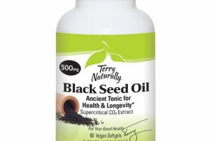BLACK SEED OIL ANCIENT TONIC FOR HEALTH & LONGEVITY DIETARY SUPPLEMENT VEGAN SOFTGELS