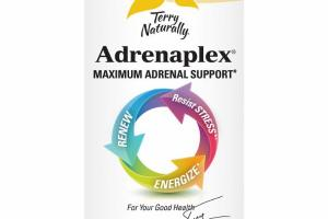 MAXIMUM ADRENAL SUPPORT RENEW, ENERGIZE, RESIST STRESS DIETARY SUPPLEMENT CAPSULES