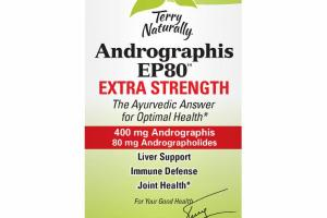 EXTRA STRENGTH 400 MG ANDROGRAPHIS 80 MG ANDROGRAPHOLIDES DIETARY SUPPLEMENT CAPSULES