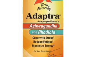 ASHWAGANDHA AND RHODIOLA ADAPTOGEN FORMULA DIETARY SUPPLEMENT CAPSULES