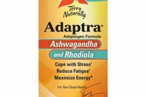 ASHWAGANDHA AND RHODIOLA ADAPTOGEN FORMULA DIETARY SUPPLEMENT CAPSULES