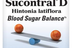 SUCONTRAL D BLOOD SUGAR BALANCE DIETARY SUPPLEMENT CAPSULES