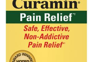 CURAMIN PAIN RELIEF SAFE, EFFECTIVE, NON-ADDICTIVE PAIN RELIEF CAPSULES DIETARY SUPPLEMENT