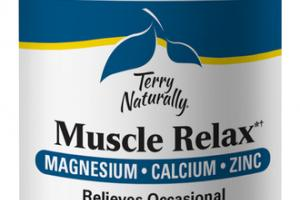 MUSCLE RELAX RELIEVES OCCASIONAL MUSCLE CRAMPS DIETARY SUPPLEMENT CAPSULES