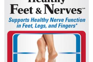 SUPPORTS HEALTHY FEET & NERVES FUNCTION IN FEET, LEGS, AND FINGERS*DIETARY SUPPLEMENT CAPSULES