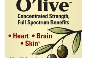 O'LIVE CONCENTRATED STRENGTH FULL SPECTRUM BENEFITS DIETARY SUPPLEMENT SOFTGELS