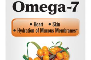 CLINICALLY STUDIED SEA BUCKTHORN OMEGA-7 DIETARY SUPPLEMENT SOFTGELS