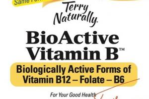BIOACTIVE VITAMIN B DIETARY SUPPLEMENT CAPSULES