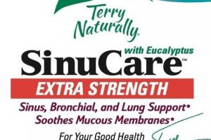 EXTRA STRENGTH SINUCARE WITH EUCALYPTUS SINUS, BRONCHIAL, AND LUNG SUPPORT DIETARY SUPPLEMENT 3 ENTERIC-COATED SOFTGELS