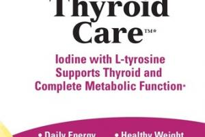 THYROID CARE DIETARY SUPPLEMENT CAPSULES