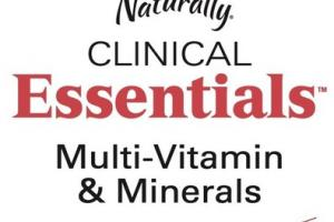 CLINICAL ESSENTIALS MULTI-VITAMIN & MINERALS DIETARY SUPPLEMENT TABLETS