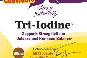 500MCG TRI-IODINE SUPPORTS STRONG CELLULAR DEFENSE AND HORMONE BALANCE DIETARY SUPPLEMENT CHEWABLE TABLETS, CHOCOLATE