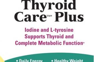 THYROID CARE PLUS WITH SELENIUM DIETARY SUPPLEMENT CAPSULES