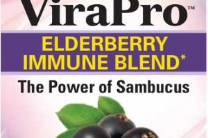 VIROPRO ELDERBERRY IMMUNE BLEND DIETARY SUPPLEMENT TABLETS