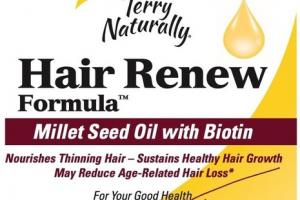 MILLET SEED OIL WITH BIOTIN HAIR RENEW FORMULA DIETARY SUPPLEMENT SOFTGELS
