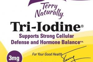 TRI-IODINE 3MG DIETARY SUPPLEMENT CAPSULES