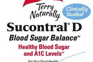 SUCONTRAL D HEALTHY BLOOD SUGAR BALANCE AND A1C LEVELS DIETARY SUPPLEMENT CAPSULES