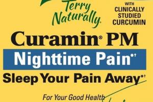 NIGHTTIME PAIN WITH CLINICALLY STUDIED CURCUMIN DIETARY SUPPLEMENT CAPSULES