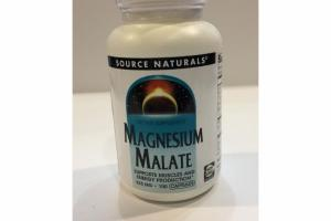 MAGNESIUM MALATE SUPPORTS MUSCLES AND ENERGY PRODUCTION CAPSULES DIETARY SUPPLEMENT