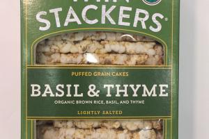 Organic Puffed Grain Cakes