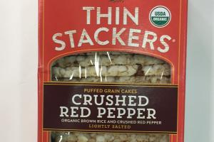 Thin Stackers Puffed Grain Cakes