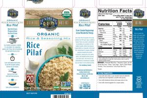 ORGANIC RICE PILAF RICE & SEASONING MIX