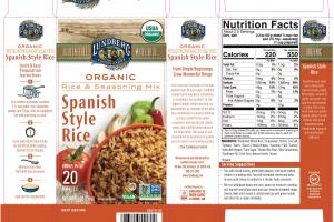 SPANISH STYLE WHITE RICE & SEASONING MIX